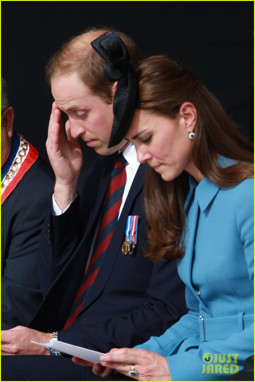 kate middleton prince william pay respects at d day 70th anniversary 153129885