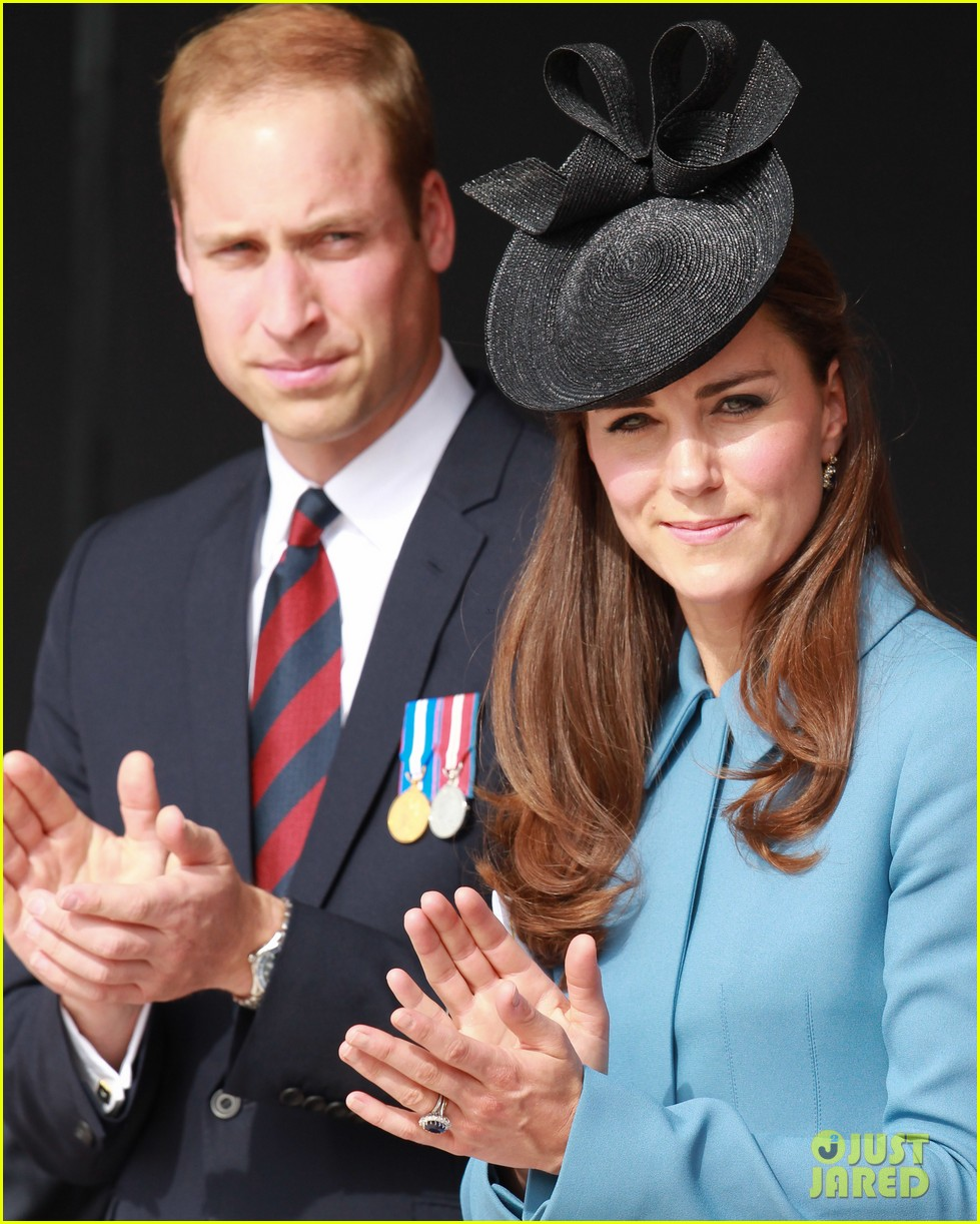 kate middleton prince william pay respects at d day 70th anniversary 203129890