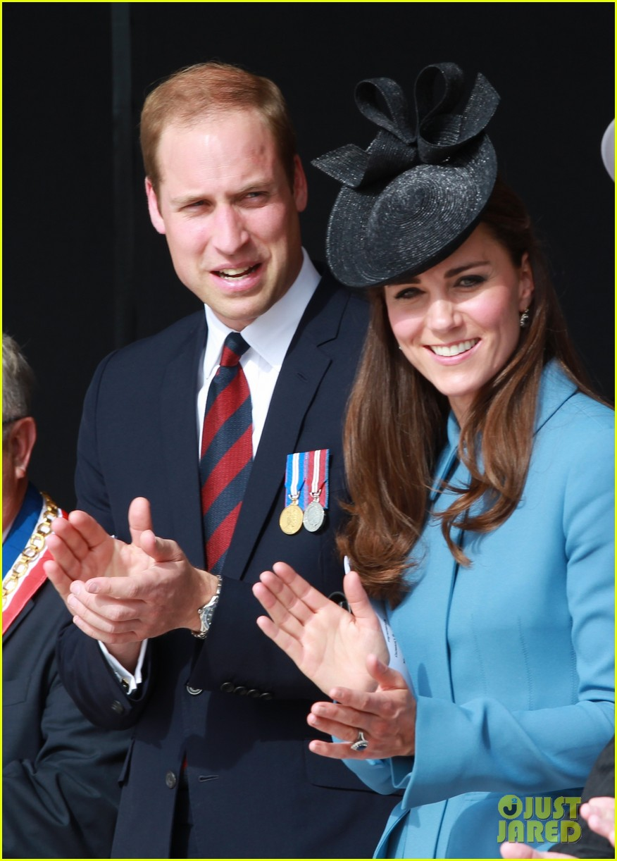 kate middleton prince william pay respects at d day 70th anniversary 253129895