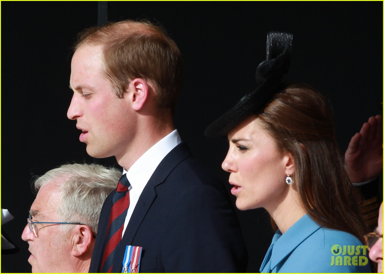 kate middleton prince william pay respects at d day 70th anniversary 273129897