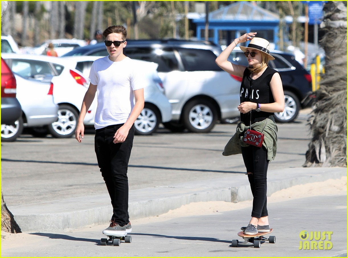 chloe moretz if stay poster skateboarding 063125331