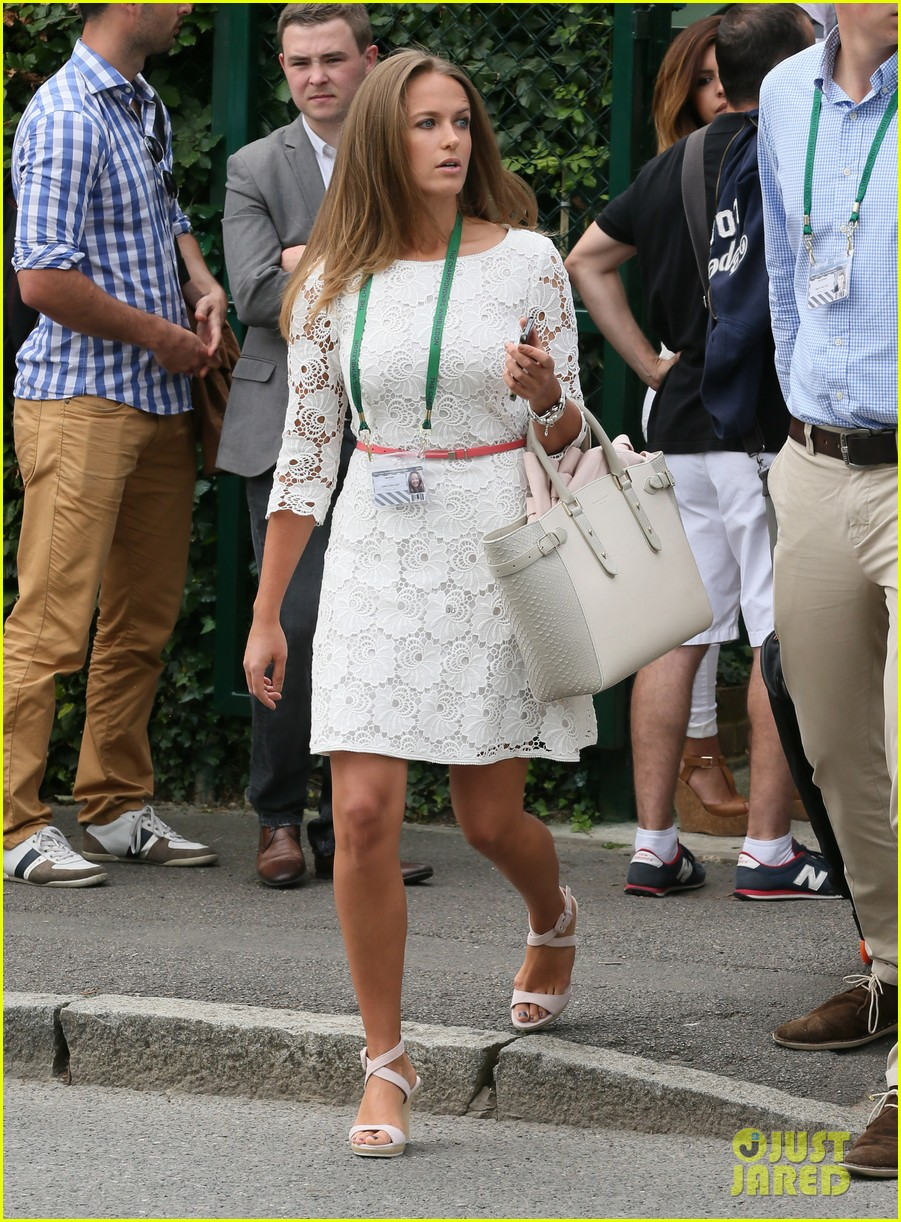 andy murray girlfriend kim sears supports him at wimbledon 233141805
