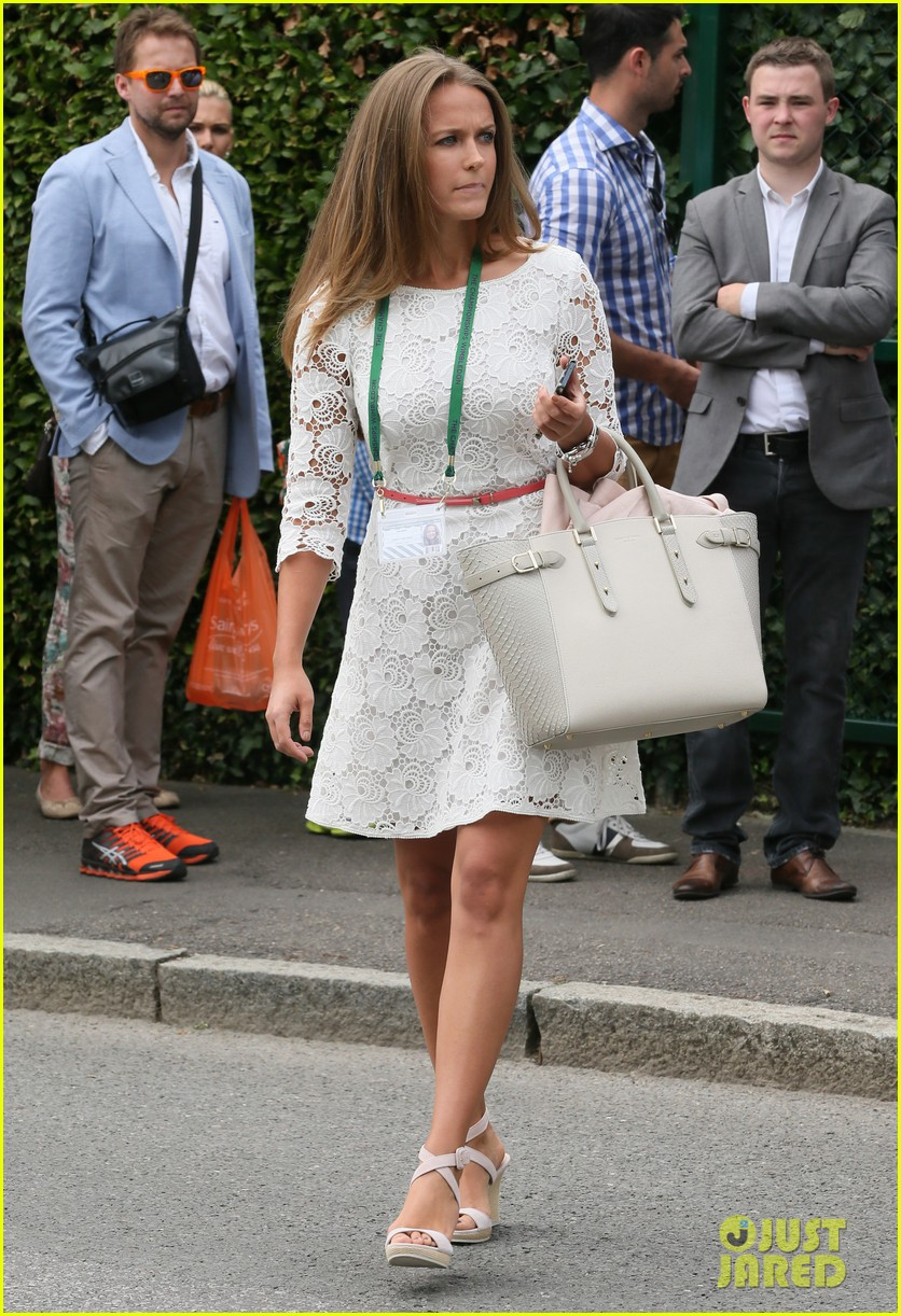andy murray girlfriend kim sears supports him at wimbledon 243141806