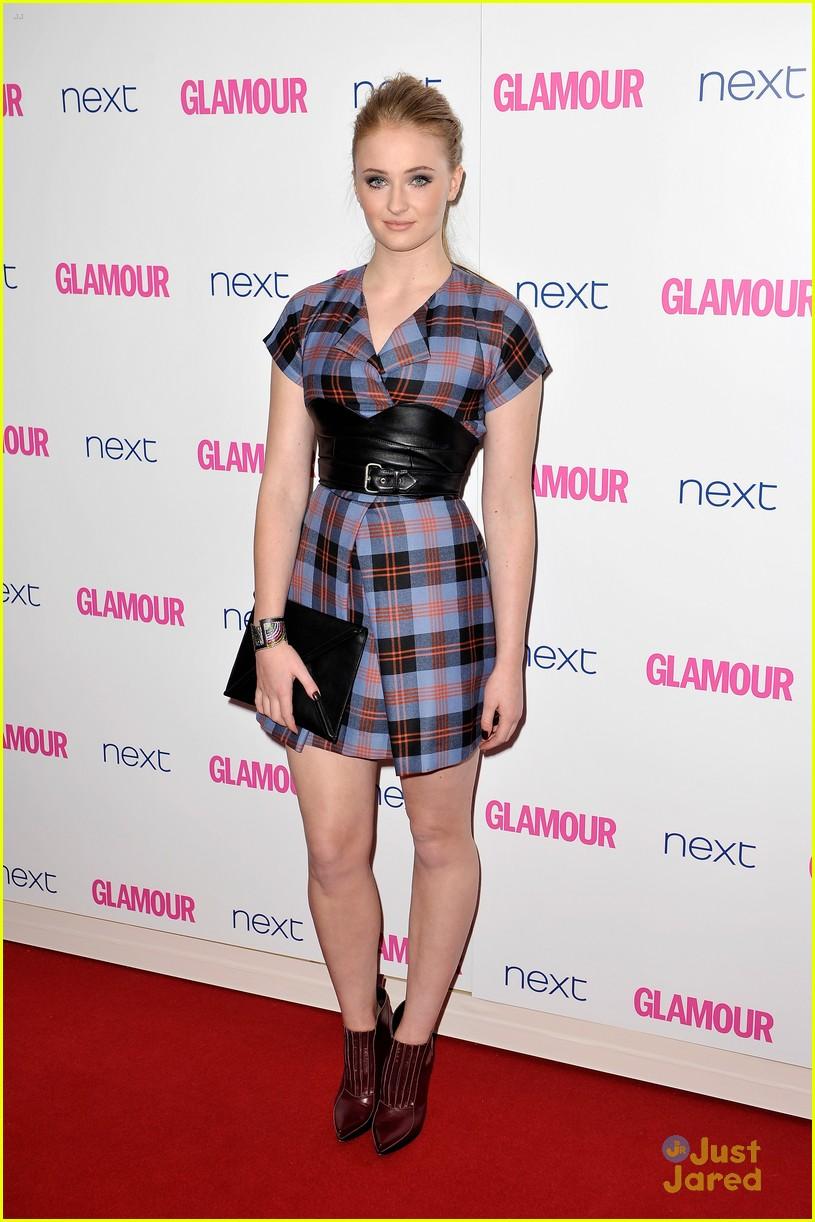 natalie dormer sophie turner sarah gadon glamour awards 033127736