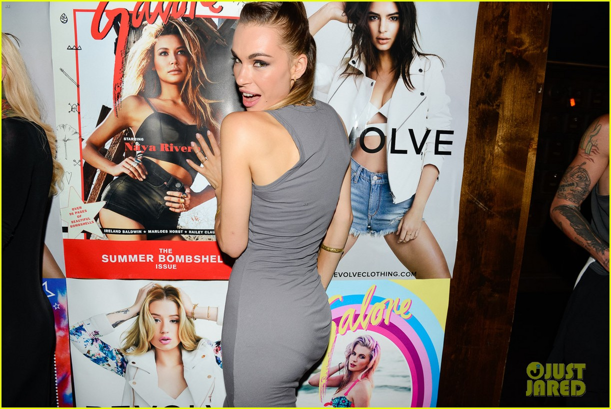 naya rivera ireland baldwin galore magazine party 043134023