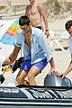 novak djokovic continues his bachelor party beach vacation 05