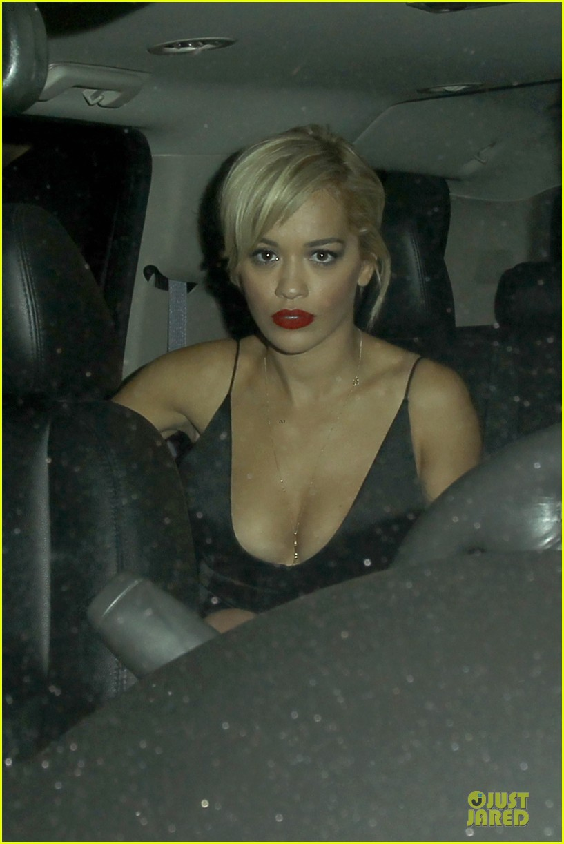 rita ora shows cleavage after calvin harris split 14