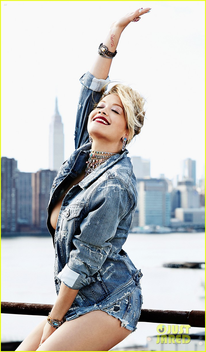 rita ora flare august 2014 issue 01