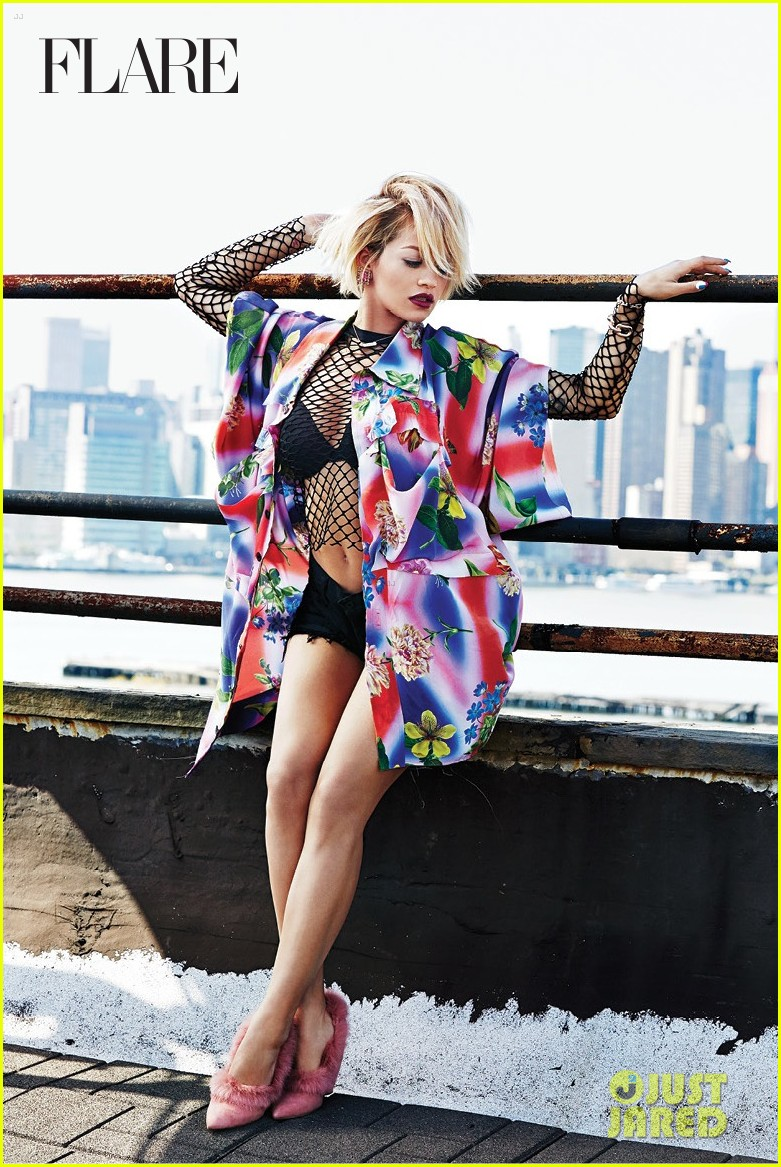 rita ora flare august 2014 issue 033142039