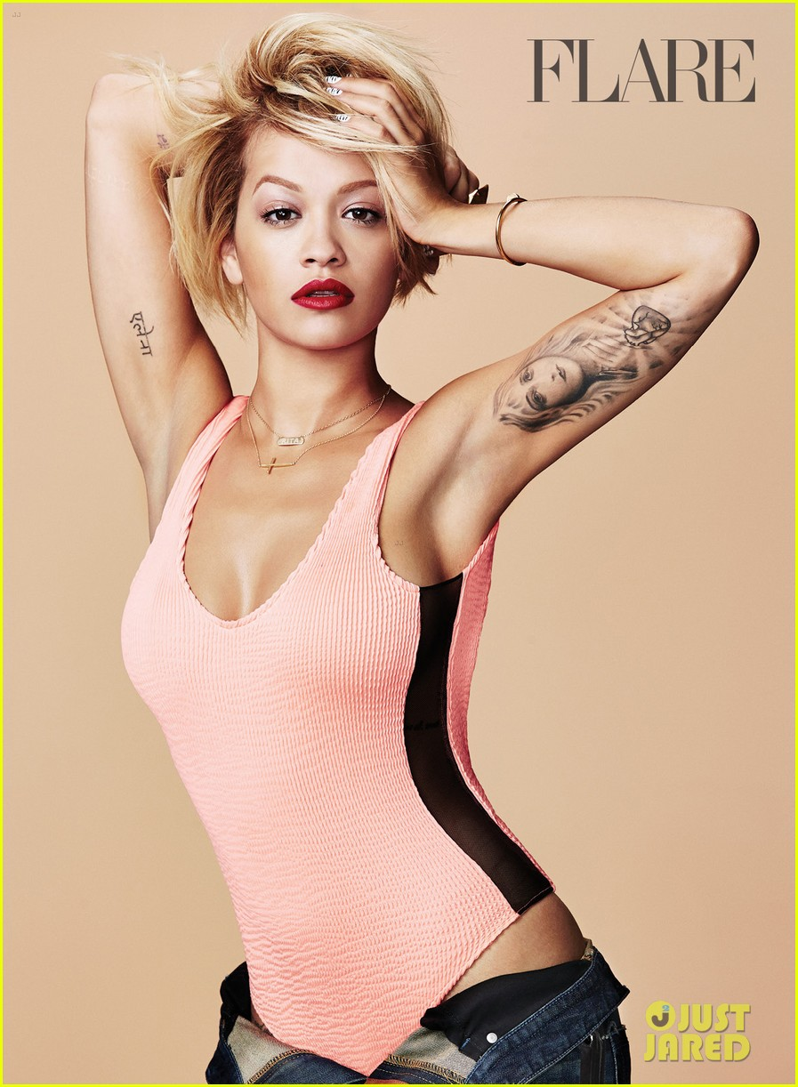 rita ora flare august 2014 issue 073142043