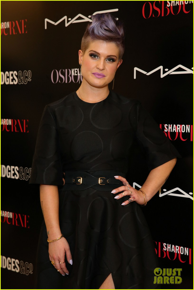 kelly osbourne launches her mac collection with mother sharon 013132358