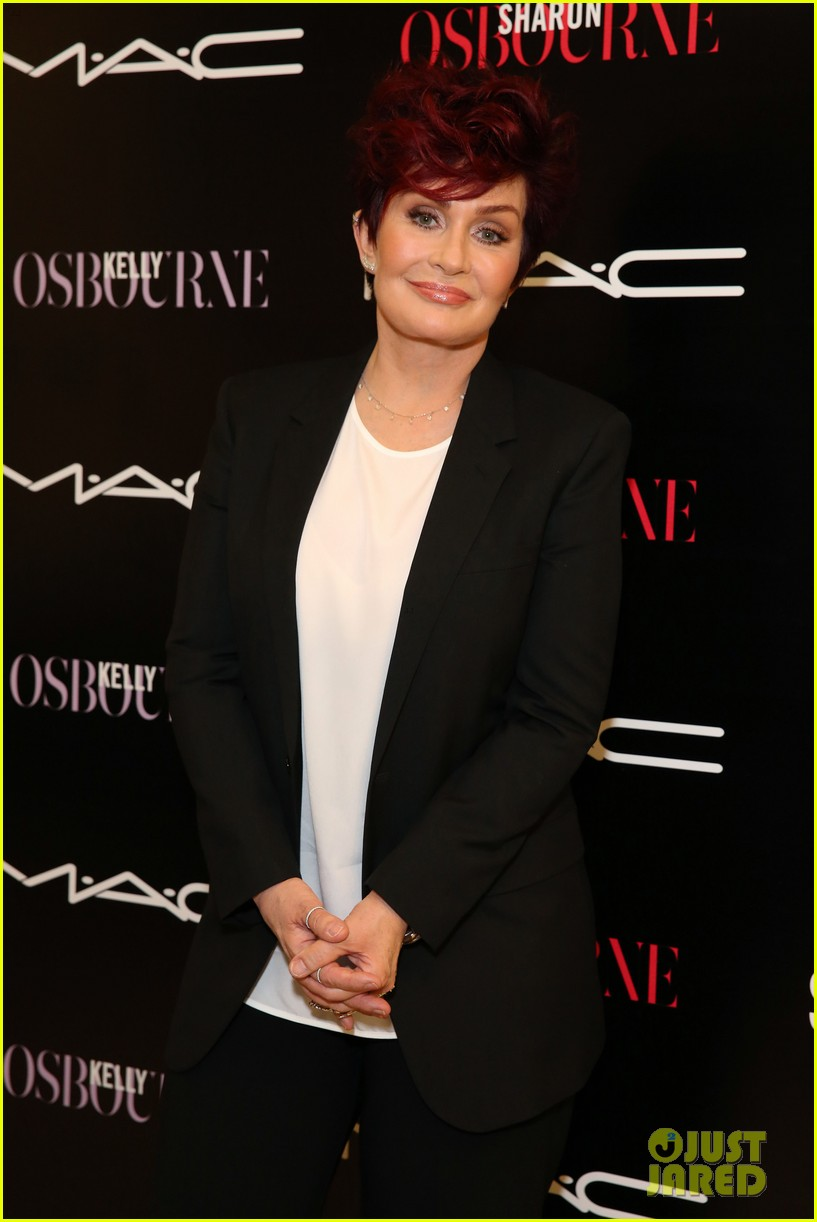 kelly osbourne launches her mac collection with mother sharon 033132360