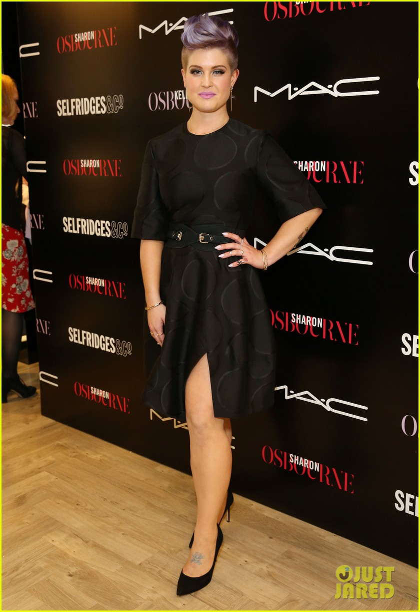 kelly osbourne launches her mac collection with mother sharon 123132369