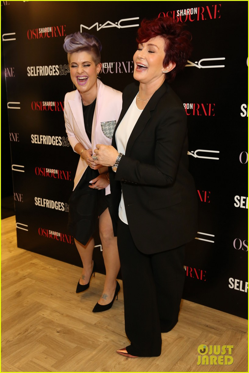 kelly osbourne launches her mac collection with mother sharon 143132371