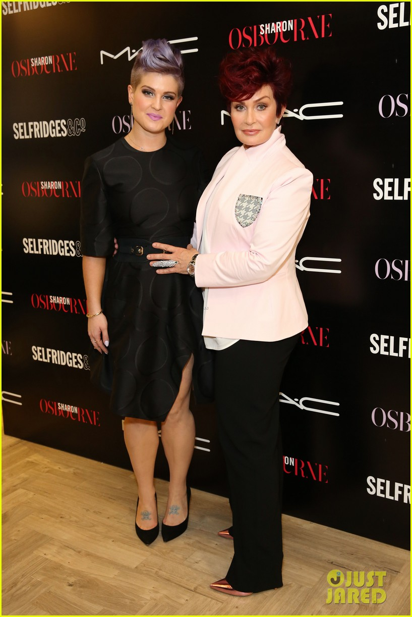 kelly osbourne launches her mac collection with mother sharon 153132372