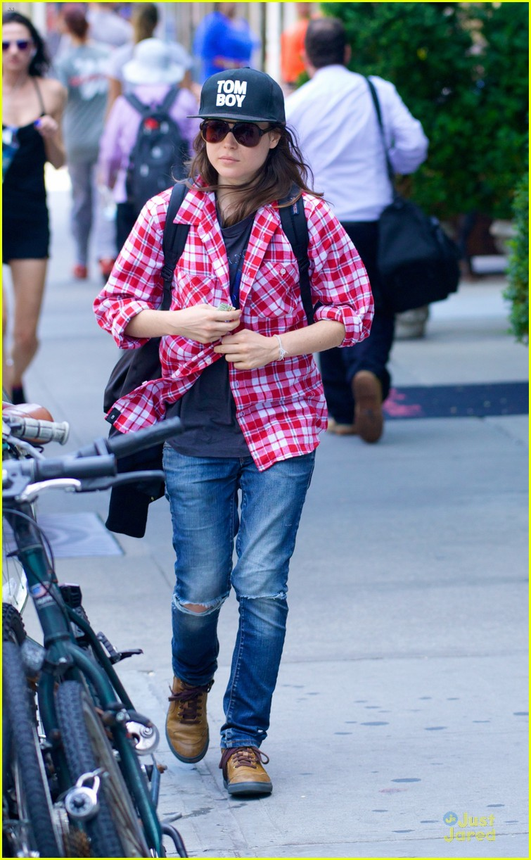 ellen page wants you to stand against march for marriage 013139714