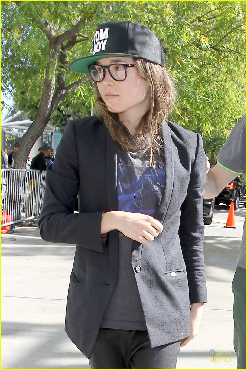 ellen page stanley cup spirit kings game 023129091