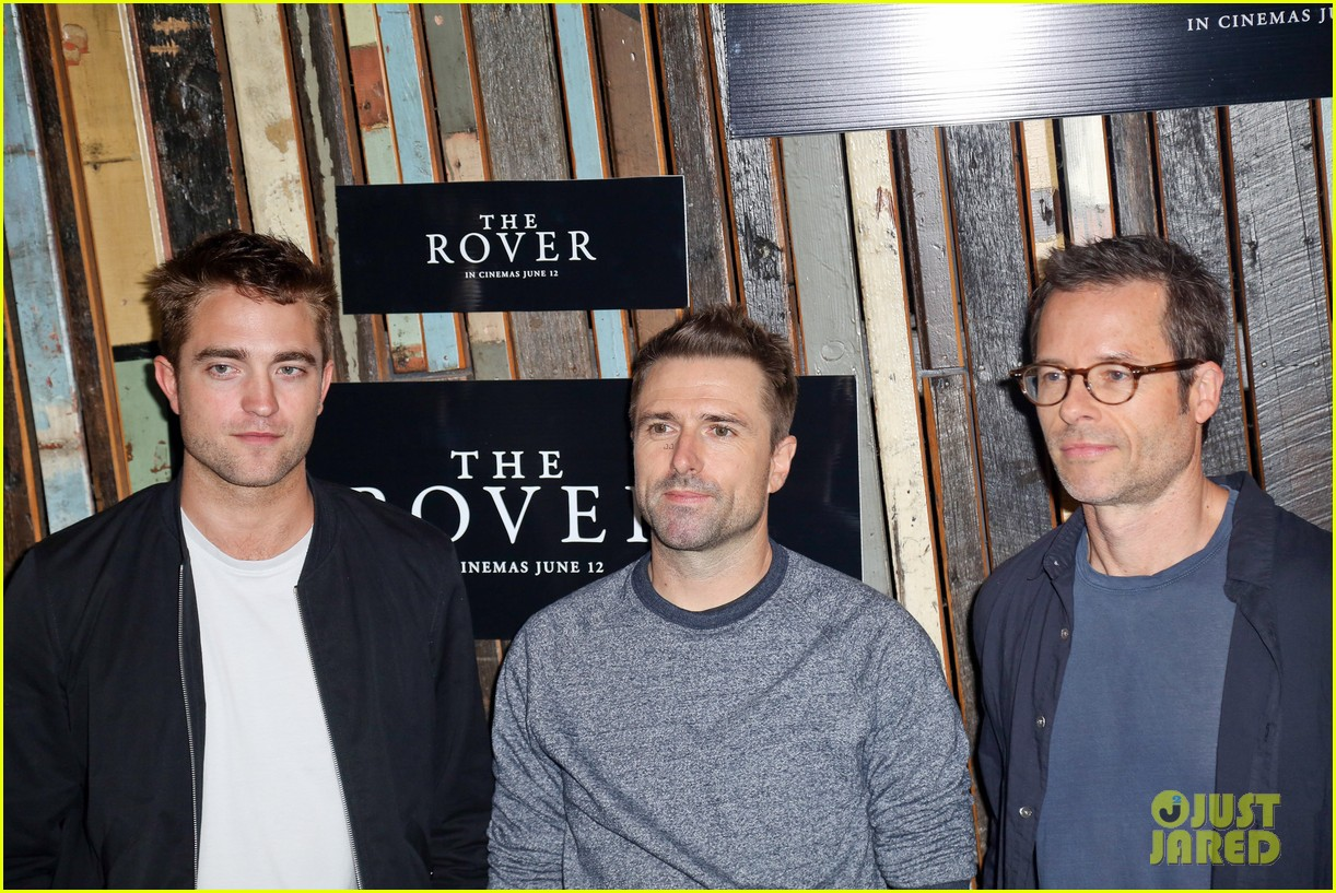 robert pattinson the rover sydney photo call 093129390