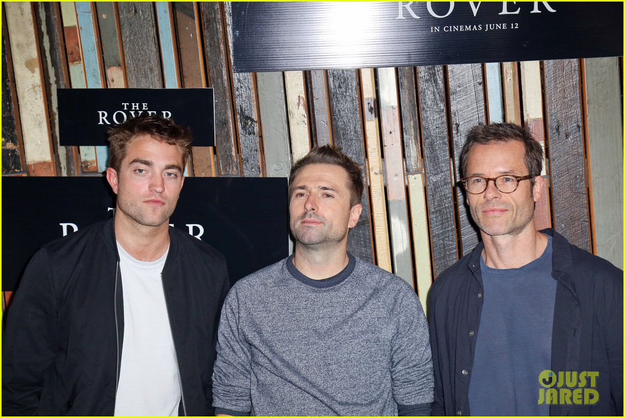robert pattinson the rover sydney photo call 14
