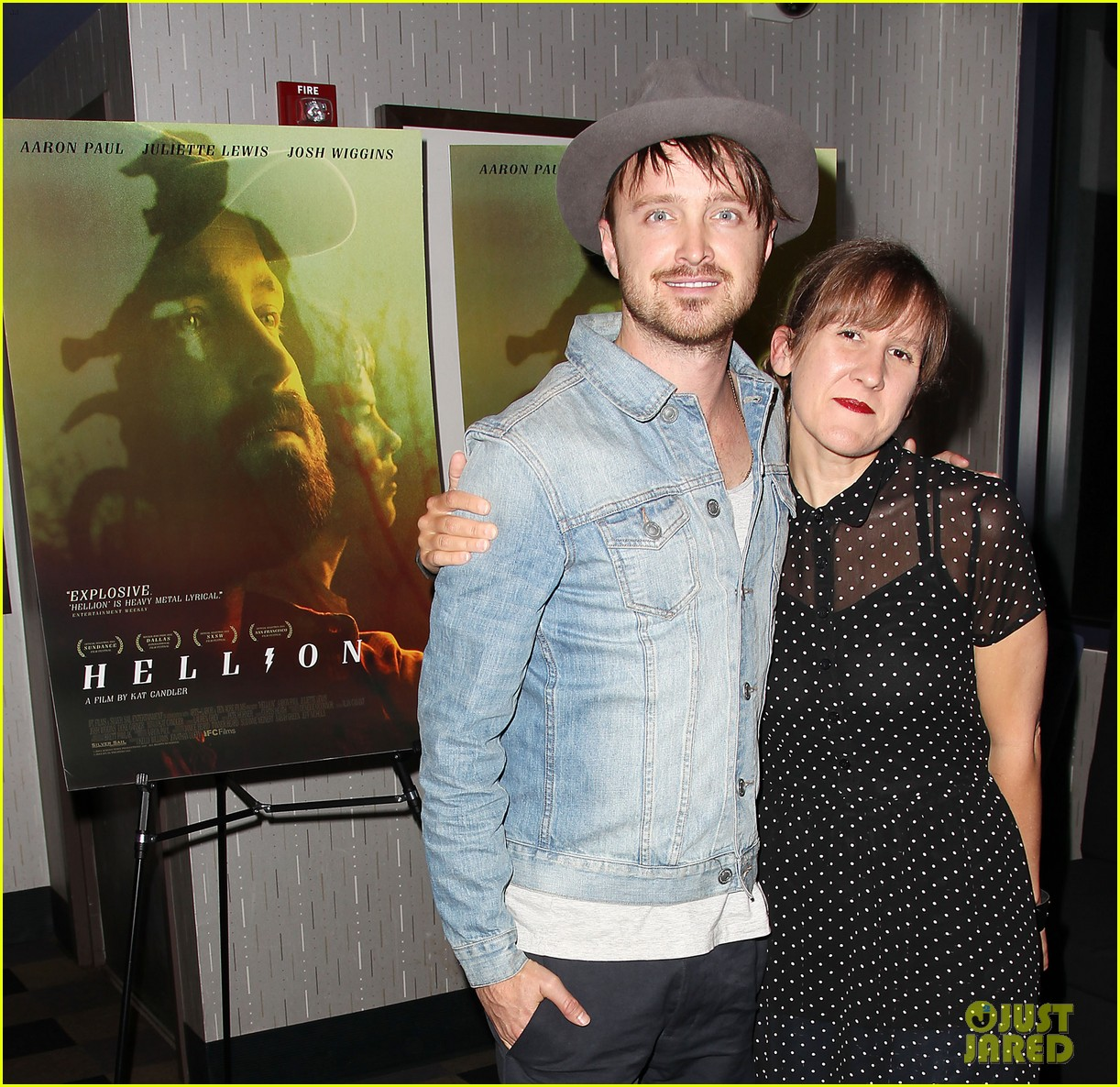 aaron paul watch hellion with him tonight 073134525
