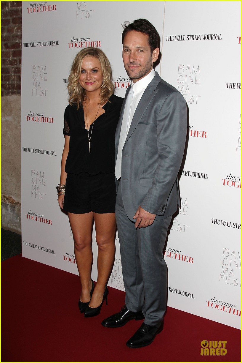 amy poehler paul rudd they came together in nyc 013142082