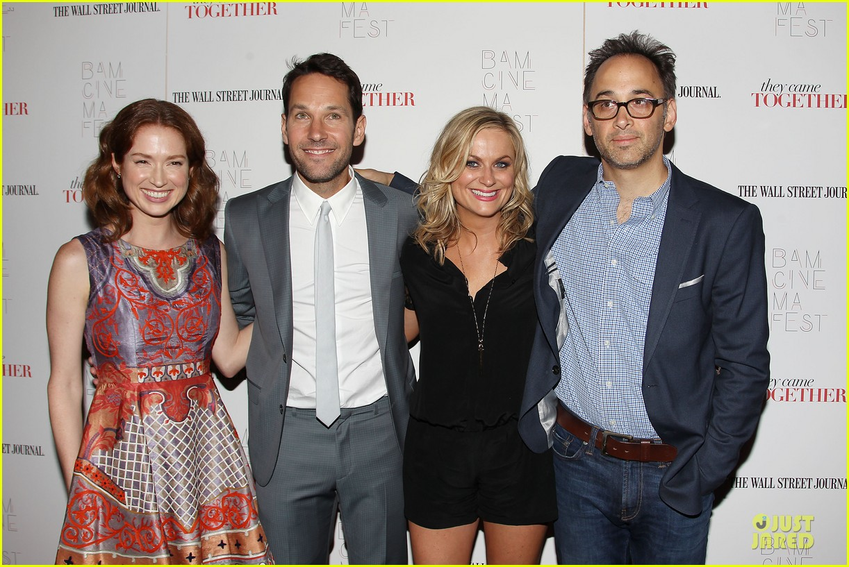 amy poehler paul rudd they came together in nyc 02