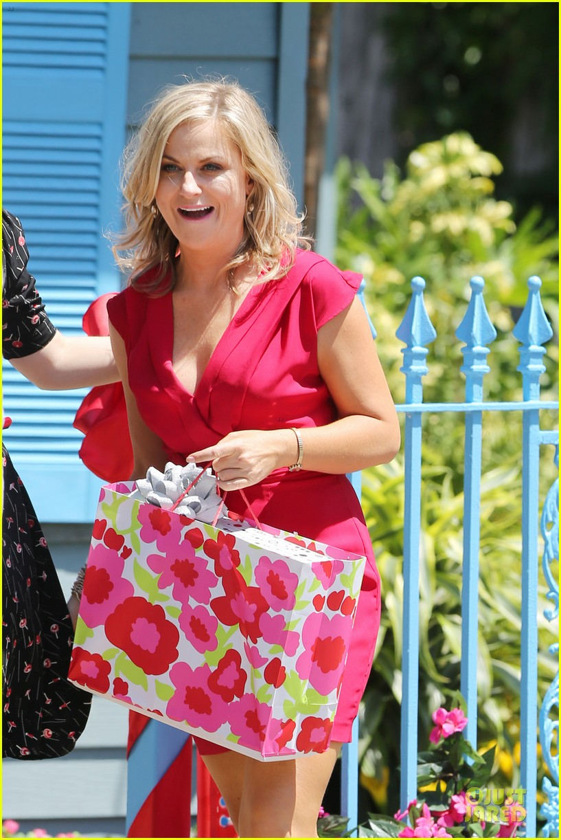amy poehler paul rudd they came together in nyc 043142085