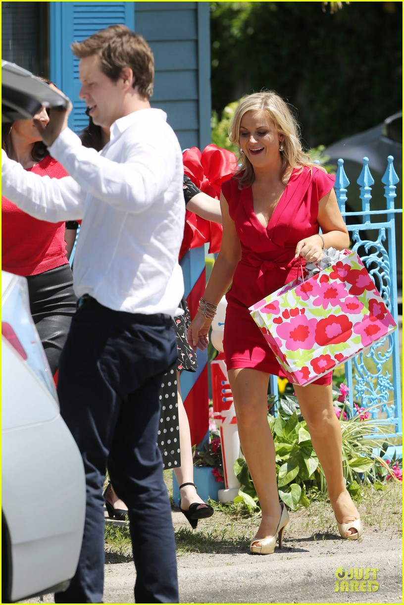 amy poehler paul rudd they came together in nyc 163142097