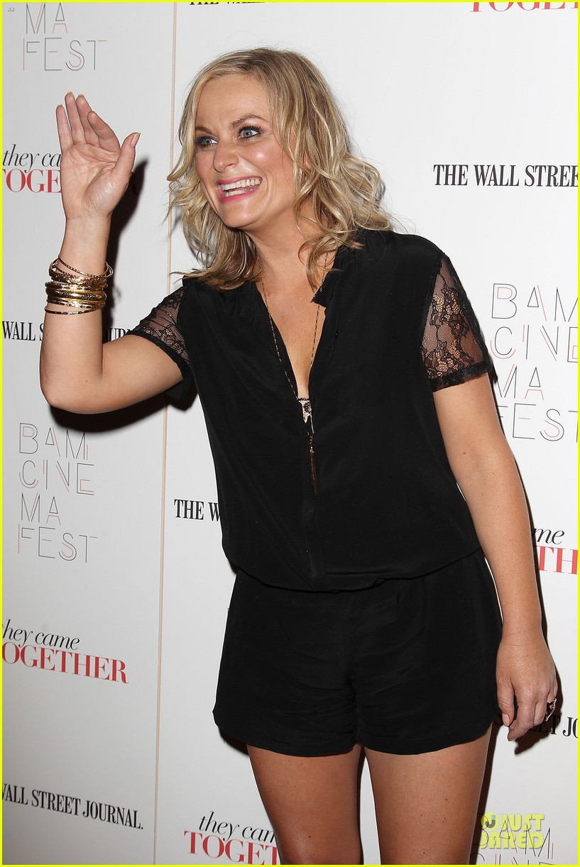 amy poehler paul rudd they came together in nyc 283142109