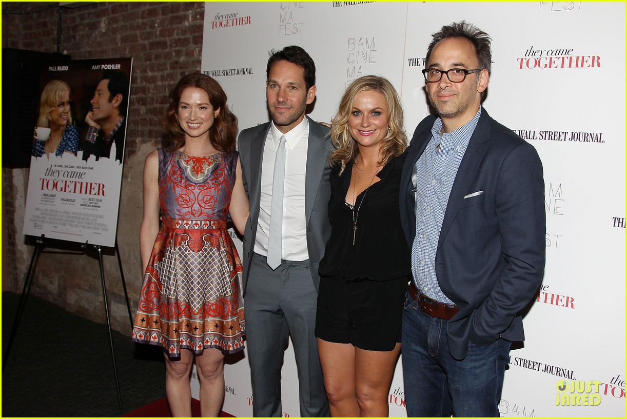 amy poehler paul rudd they came together in nyc 353142116