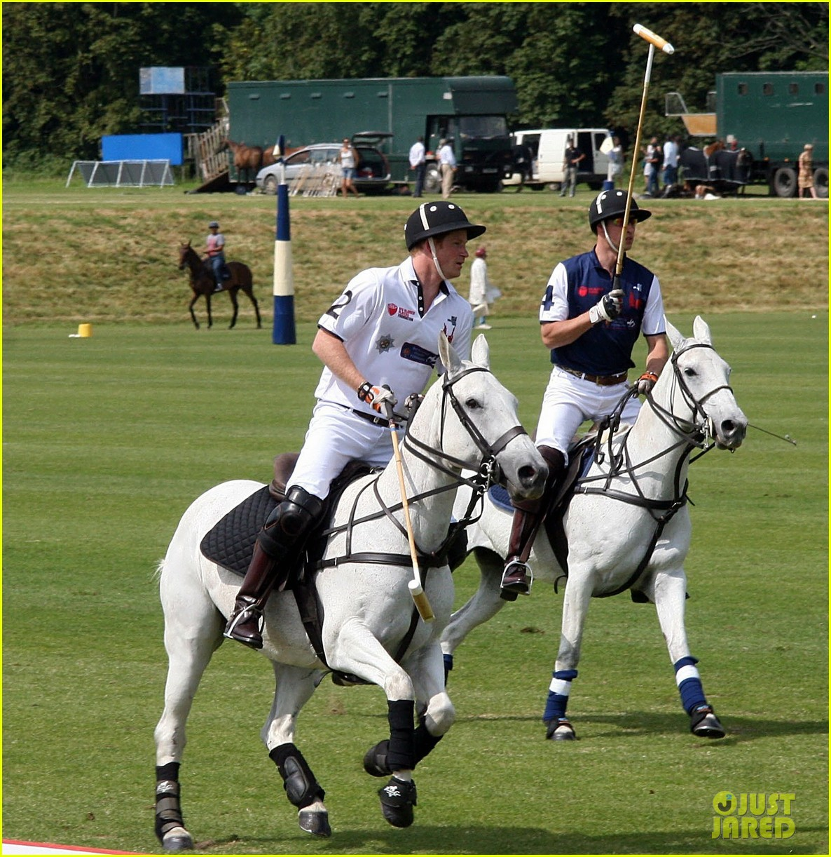 prince harry prince william make it a royal affair at polo match 083141415