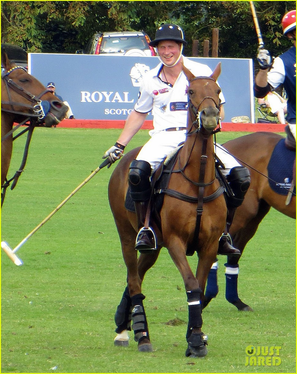 prince harry prince william make it a royal affair at polo match 113141418