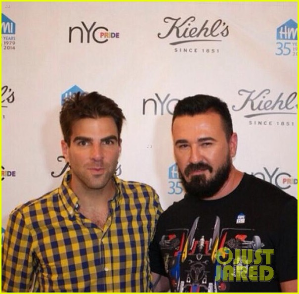 zachary quinto kicks off new york city pride week with kiehls 033144689
