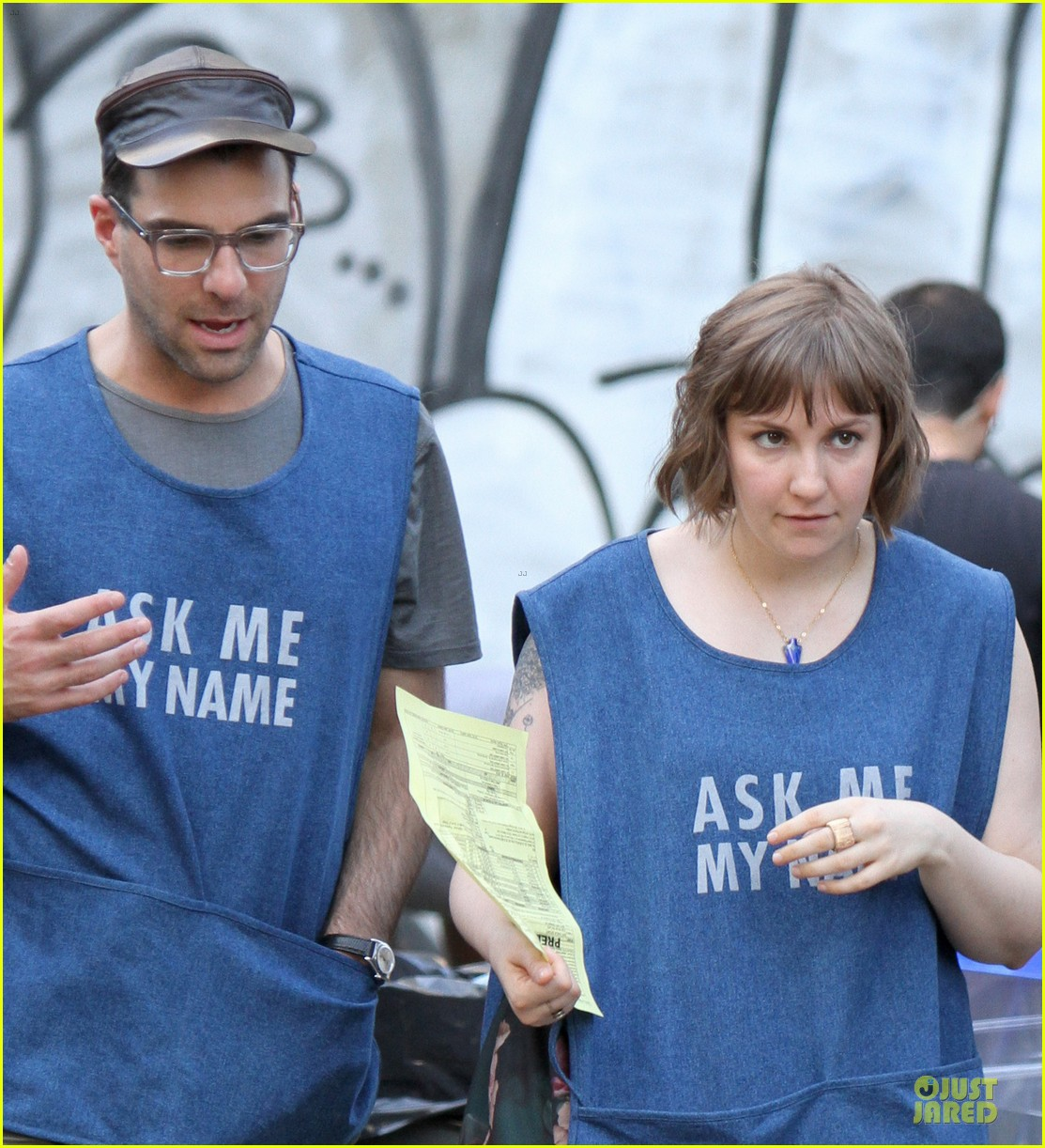 zachary quinto lena dunham ask for their name 02