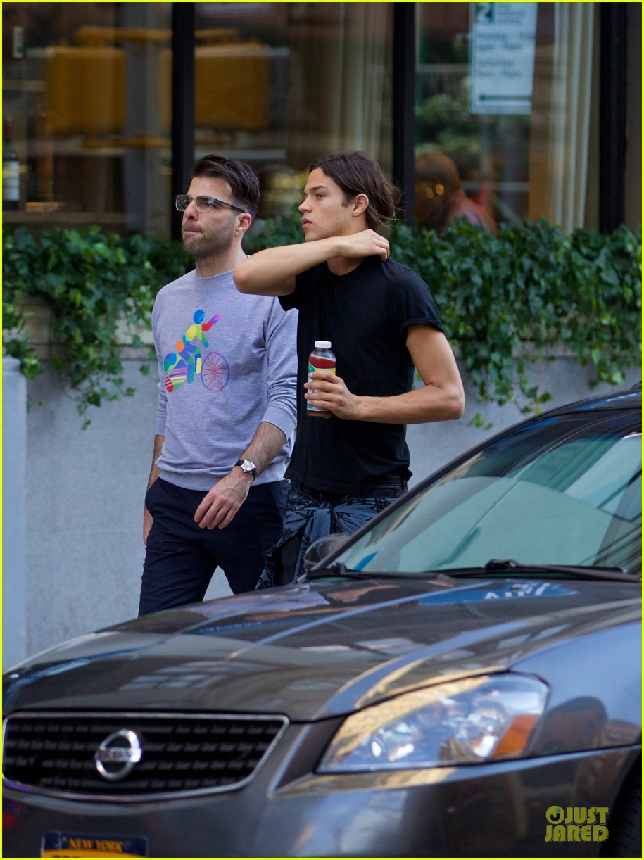 zachary quinto miles mcmillan going strong in nyc 02