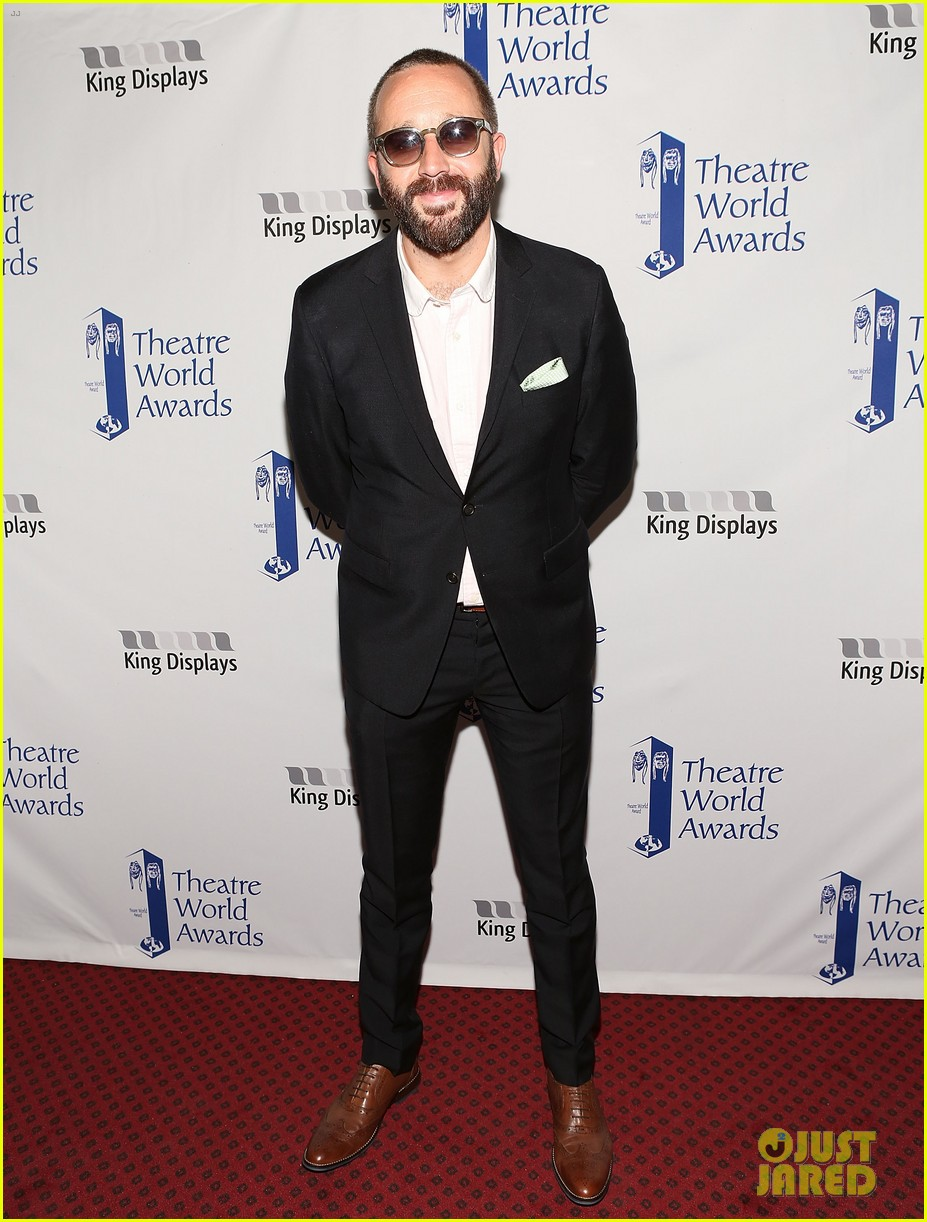 zachary quinto steps out to present at theatre world awards 033127237