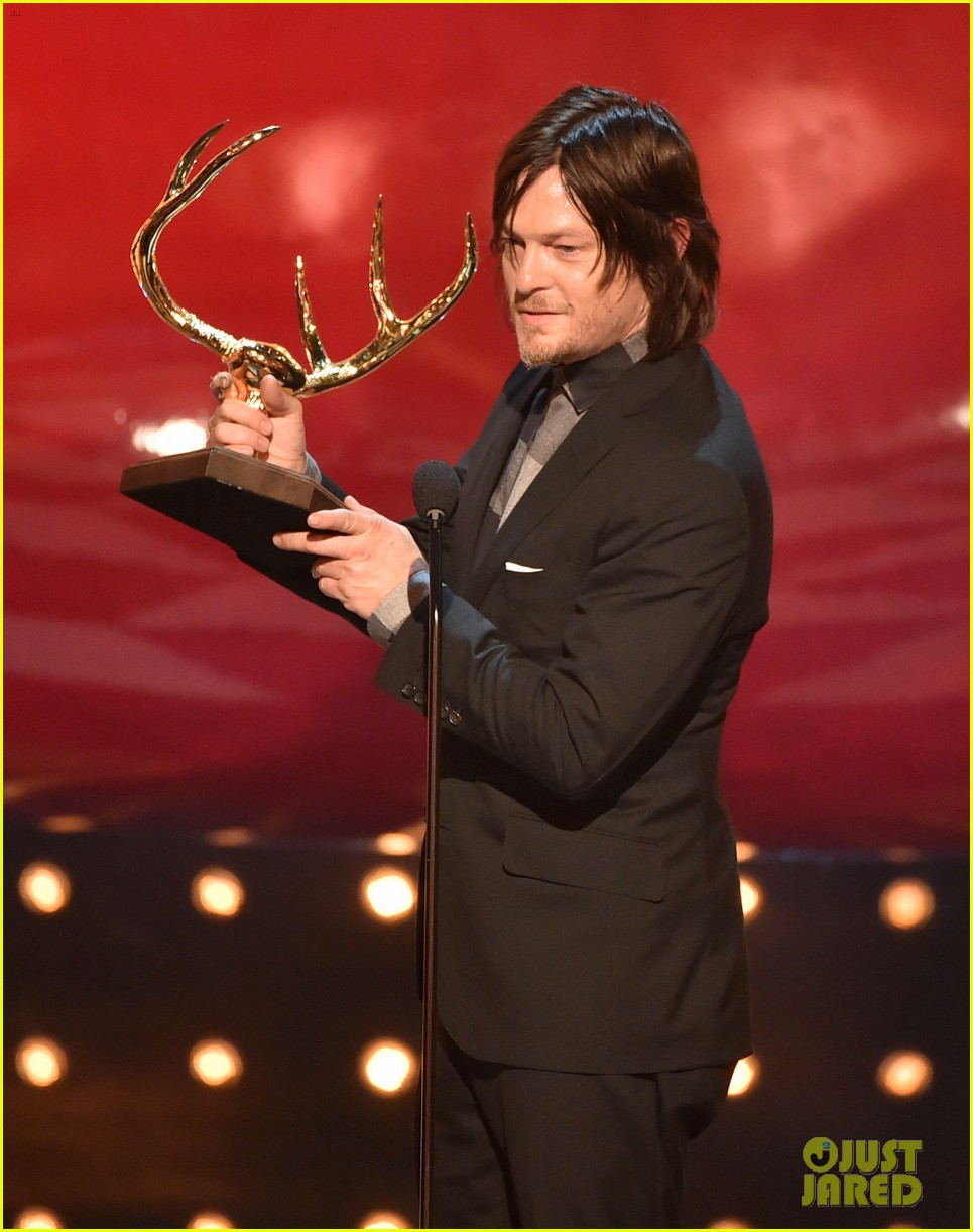 norman reedus lauren cohan guys choice awards 2014 01