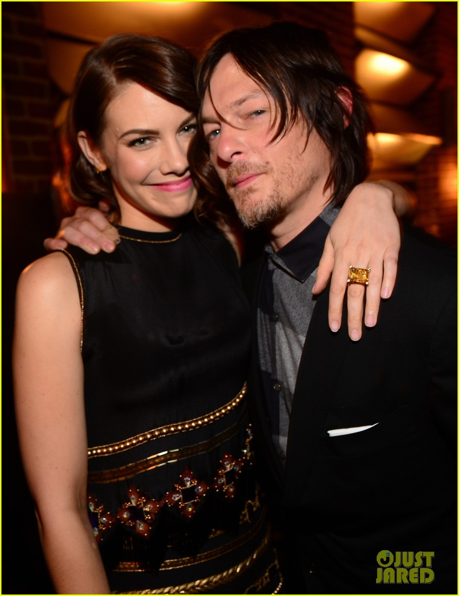 norman reedus lauren cohan guys choice awards 2014 03