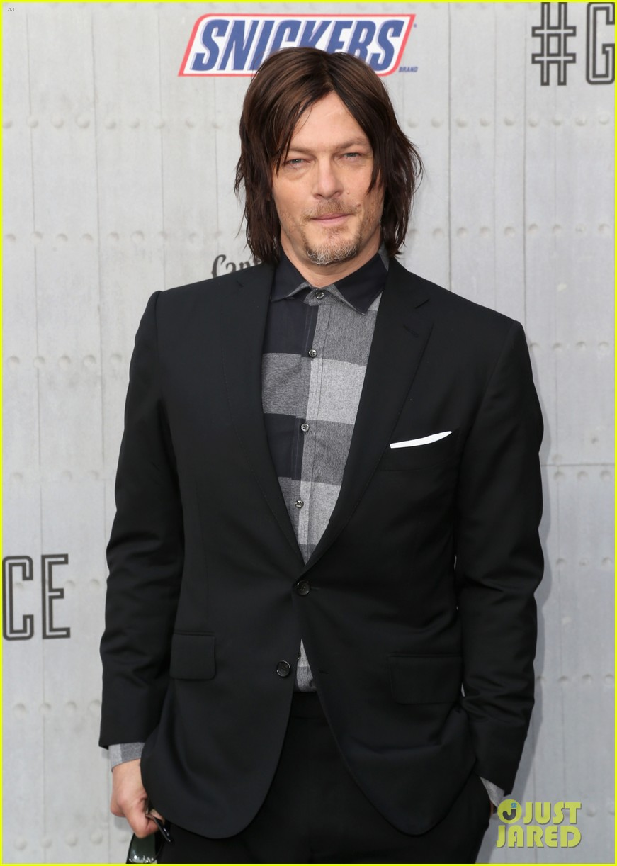 norman reedus lauren cohan guys choice awards 2014 073130827