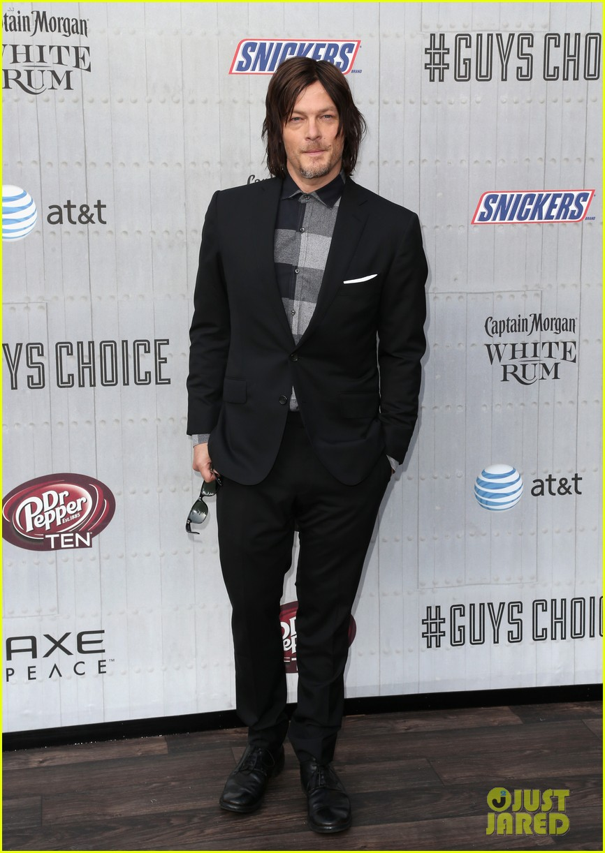 norman reedus lauren cohan guys choice awards 2014 103130830