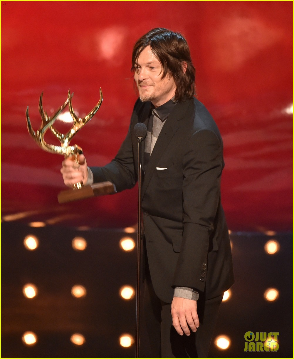 norman reedus lauren cohan guys choice awards 2014 133130833