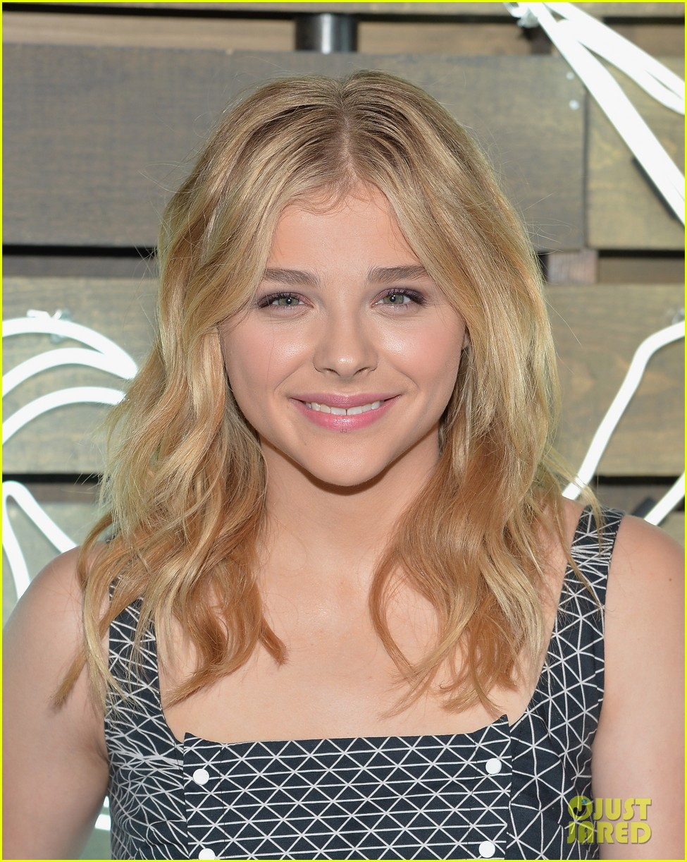 chloe moretz summer party nyc coach 2014 013137729