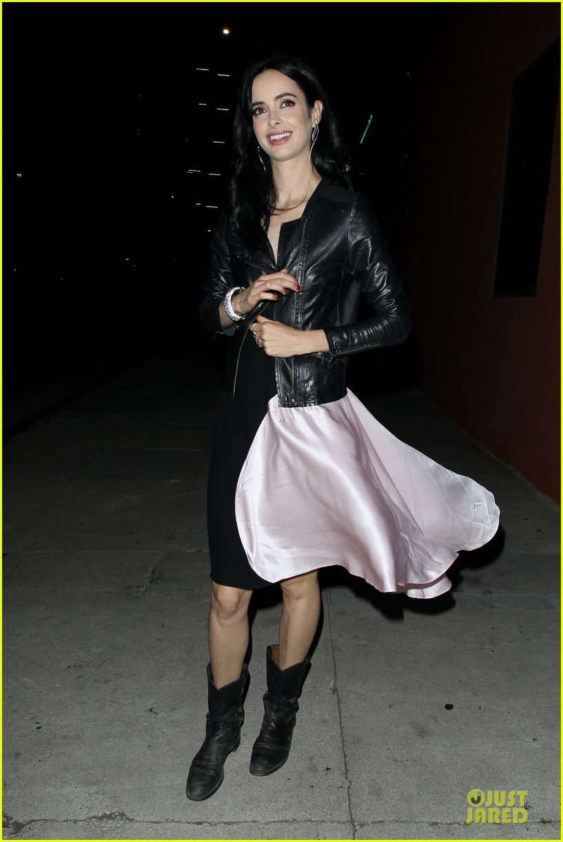 krysten ritter dresses to impress at maxmara party 083133587