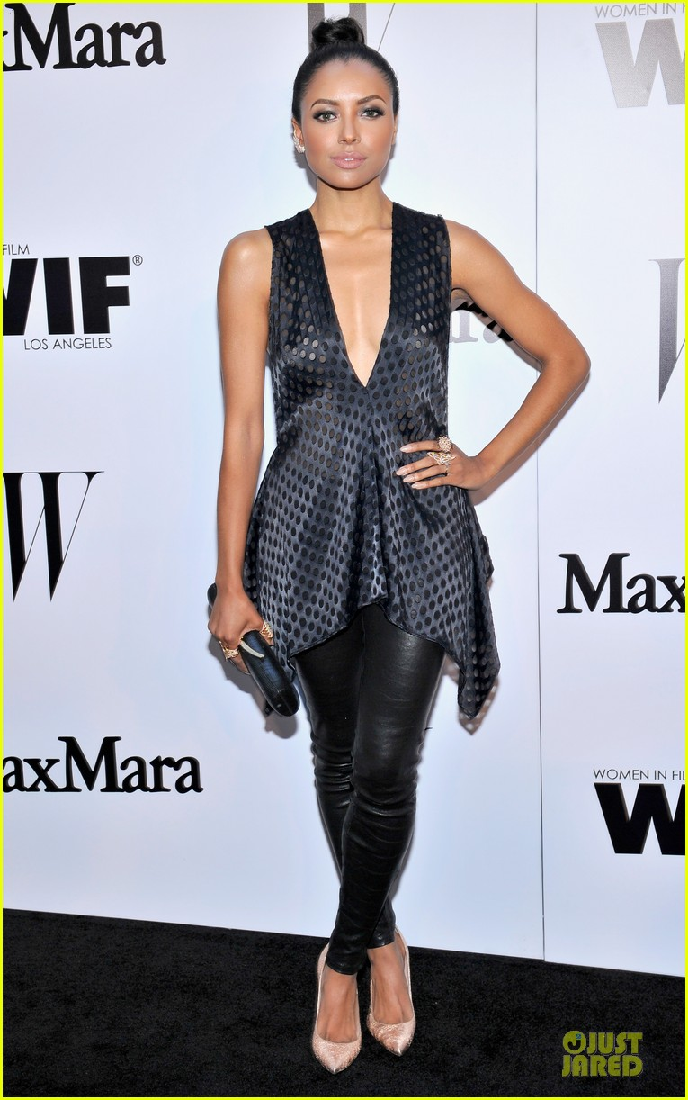 naya rivera zoey deutch super chic at maxmara party 03