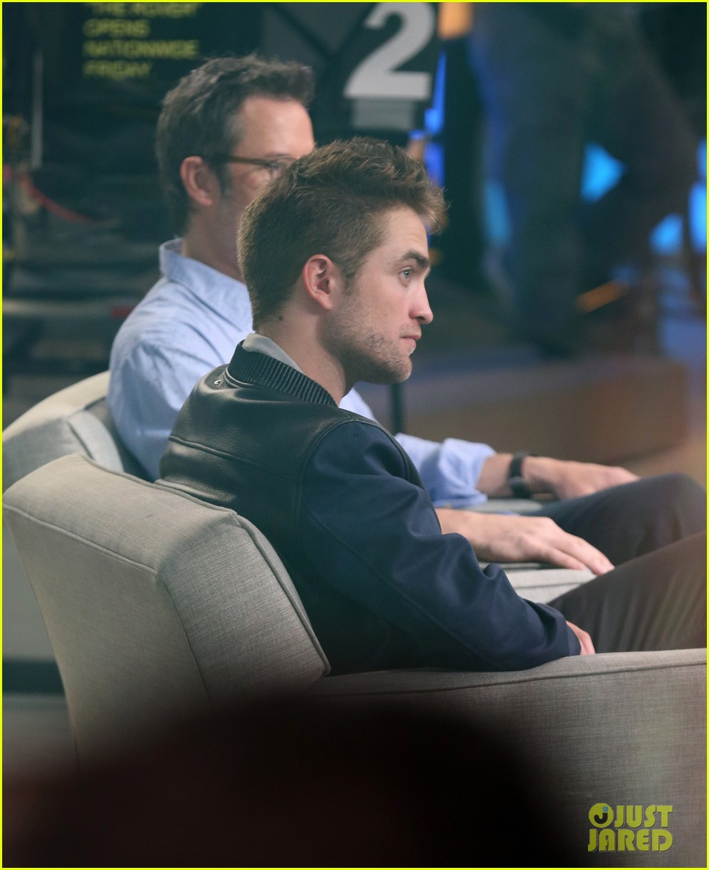 robert pattinson the rover good morning america 13
