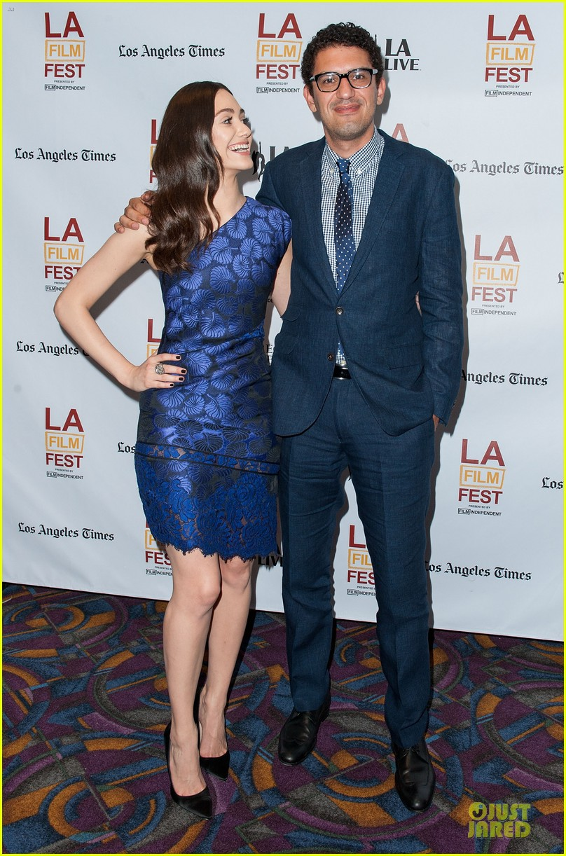 emmy rossum brings comet to laff 053135347