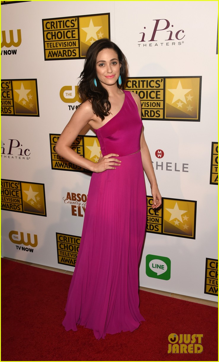 emmy rossum rosy dress gym day before 173139363