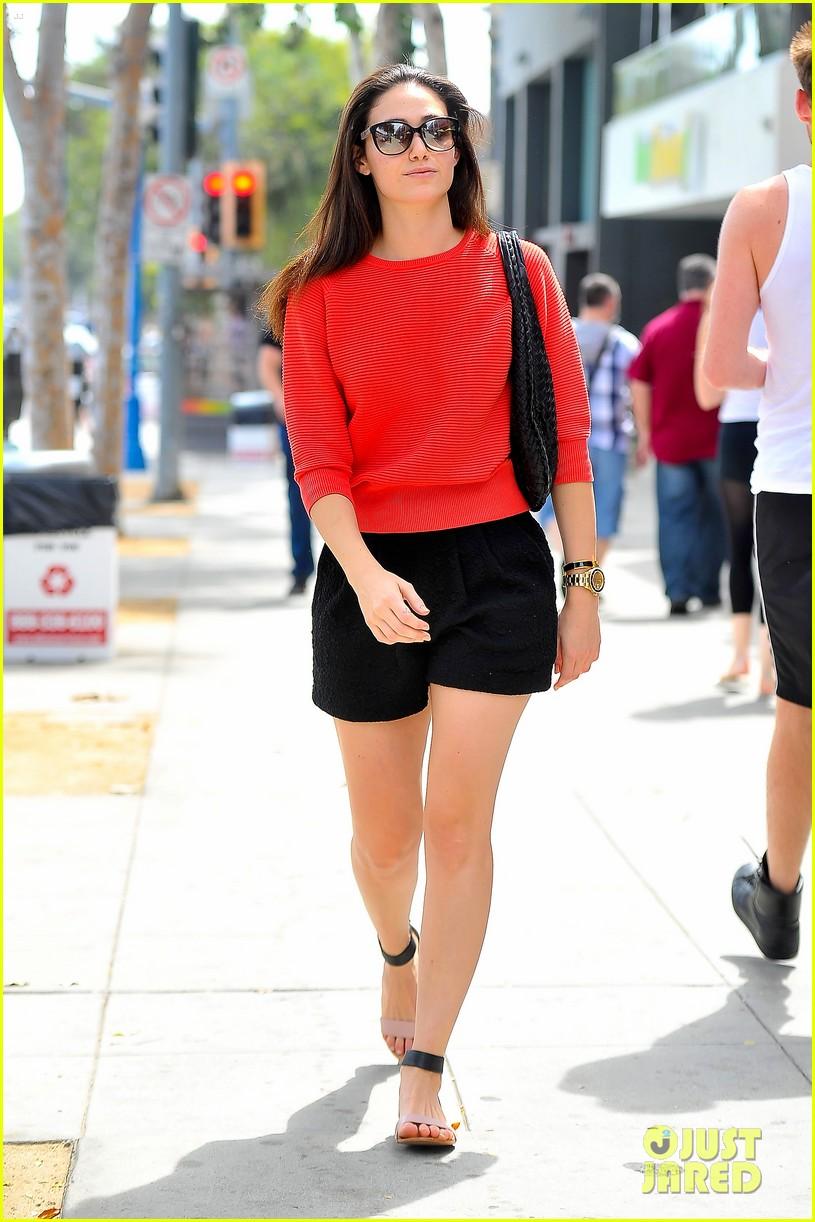 emmy rossum red sweater sweetie 103141505