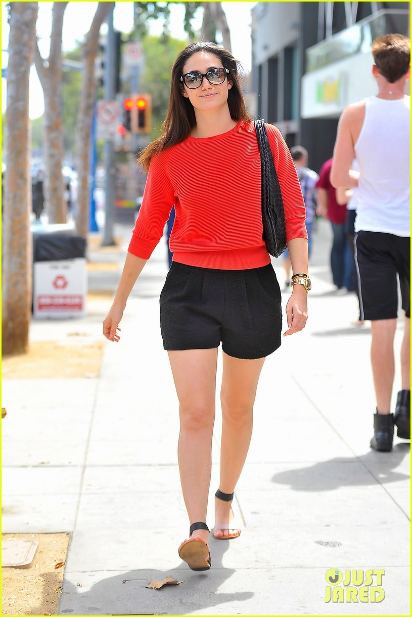 emmy rossum red sweater sweetie 19