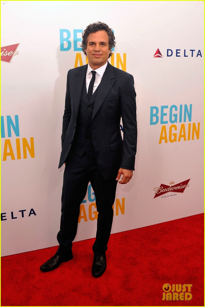 mark ruffalo brie larson begin again premiere 073143506